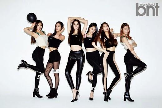 Nine Muses - bnt International November 2014