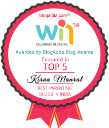 In the Top Five Parenting Blogs from India