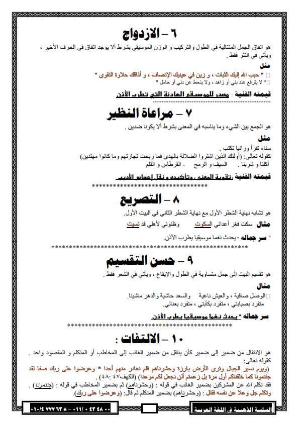 """لغة عربية: بالصور شرح بلاغة """"2"""" ثانوي وتدريباتها ترم اول لـ 2016 - صفحة 2 %D8%A8%D9%84%D8%A7%D8%BA%D8%A9+2013_008"""