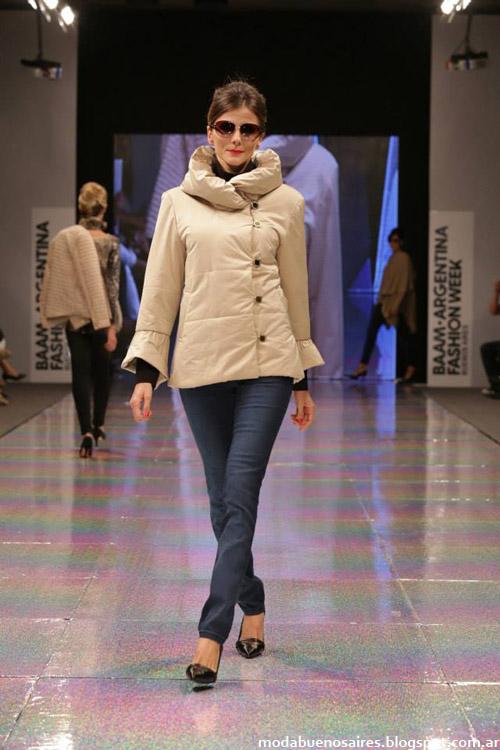 Adriana Costantini otoño invierno 2014 camperas casuales invierno 2014