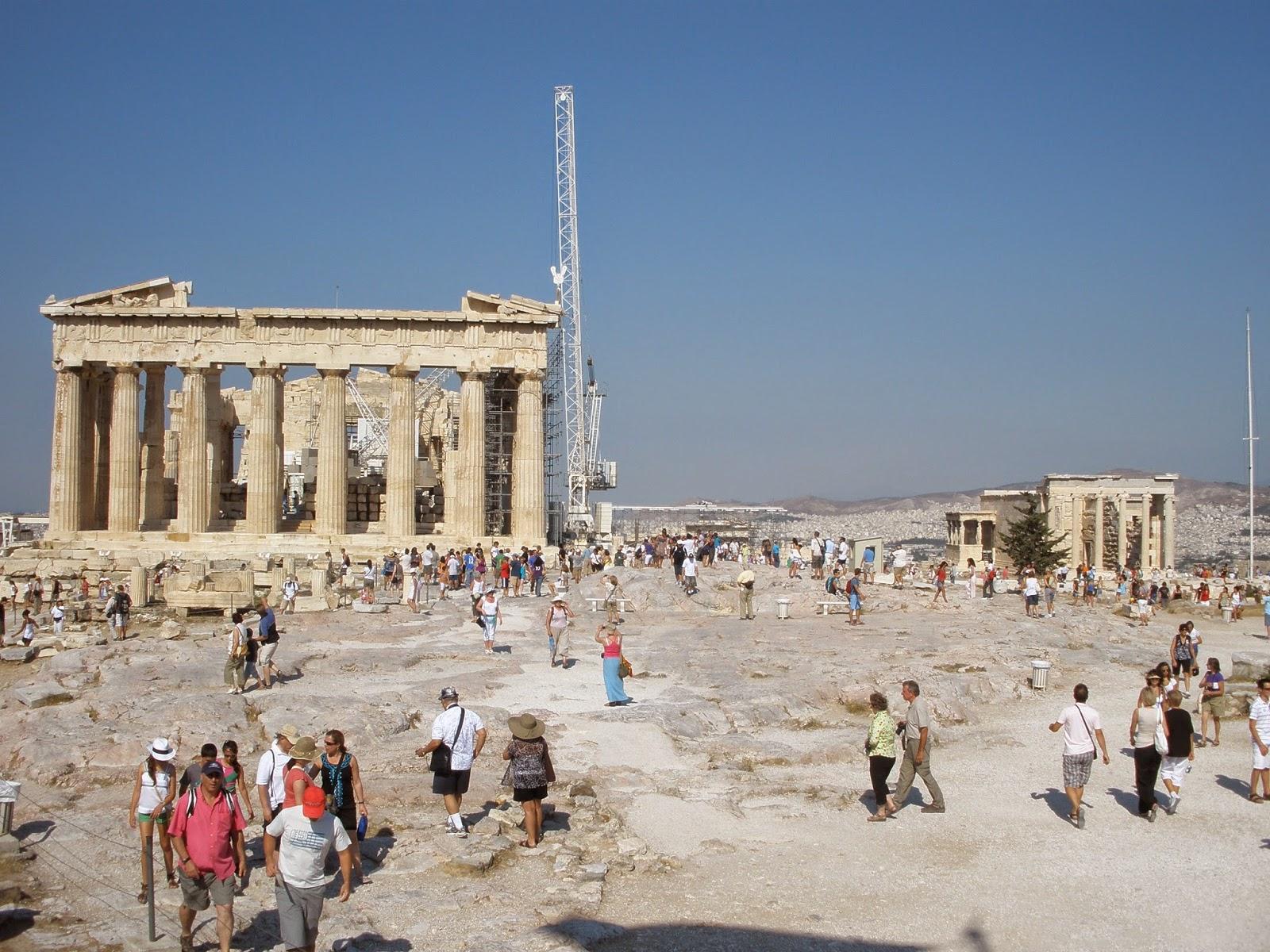 La Acrópolis de Atenas es la más importante de las ciudades griegas.