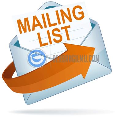 Apa itu mailing list ? tik