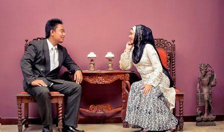 Foto Pre Wedding dengan Konsep Islami