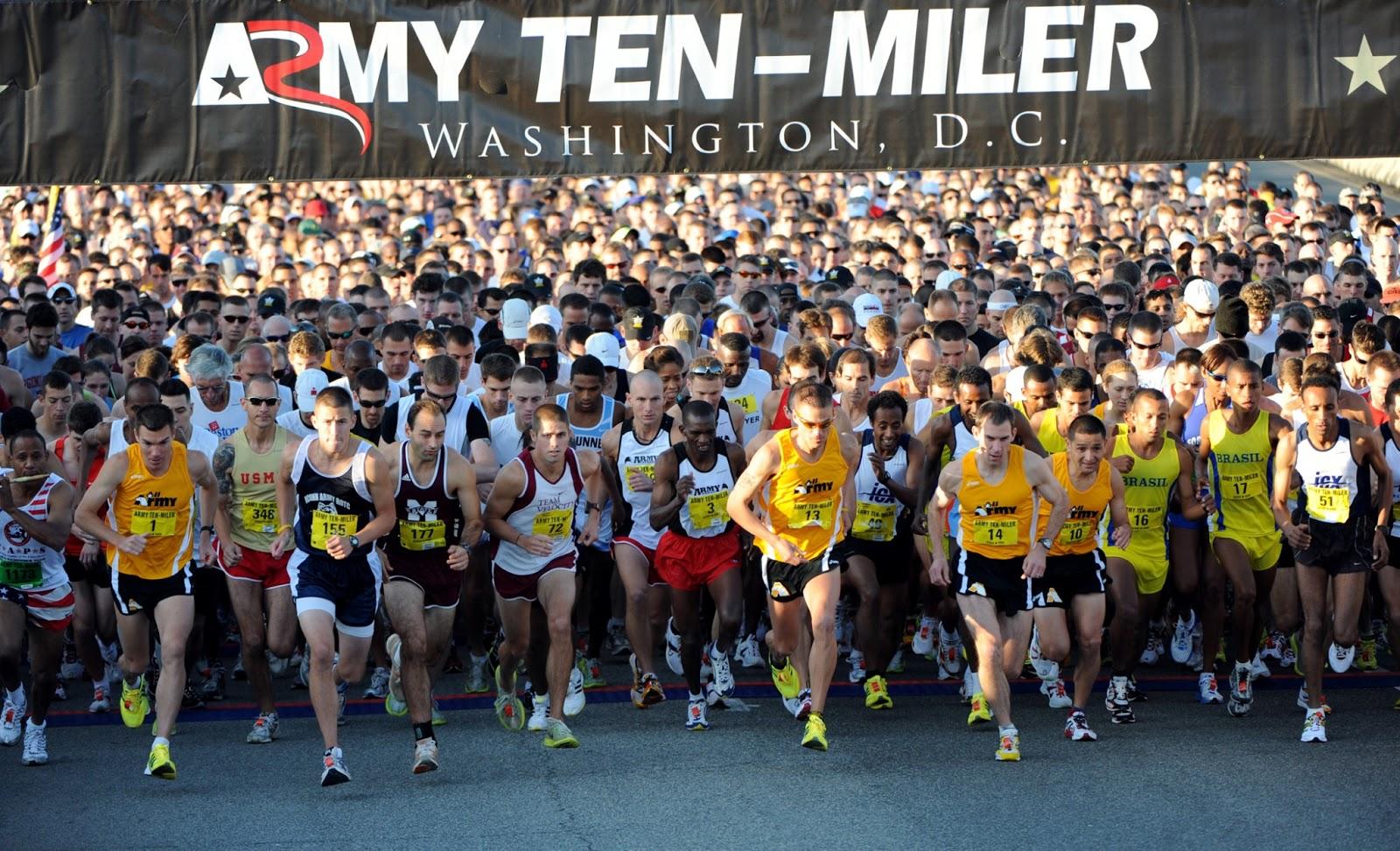 Army 10 Miler Race Recap