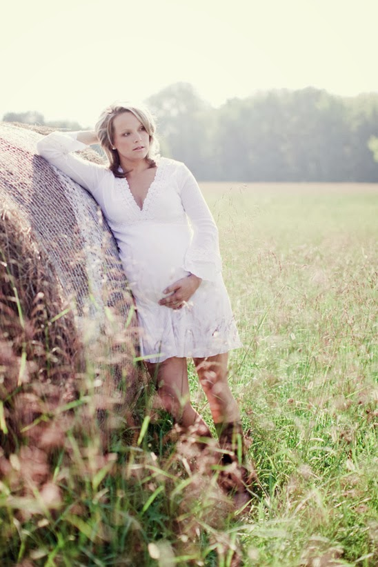 Country Farm Maternity Session