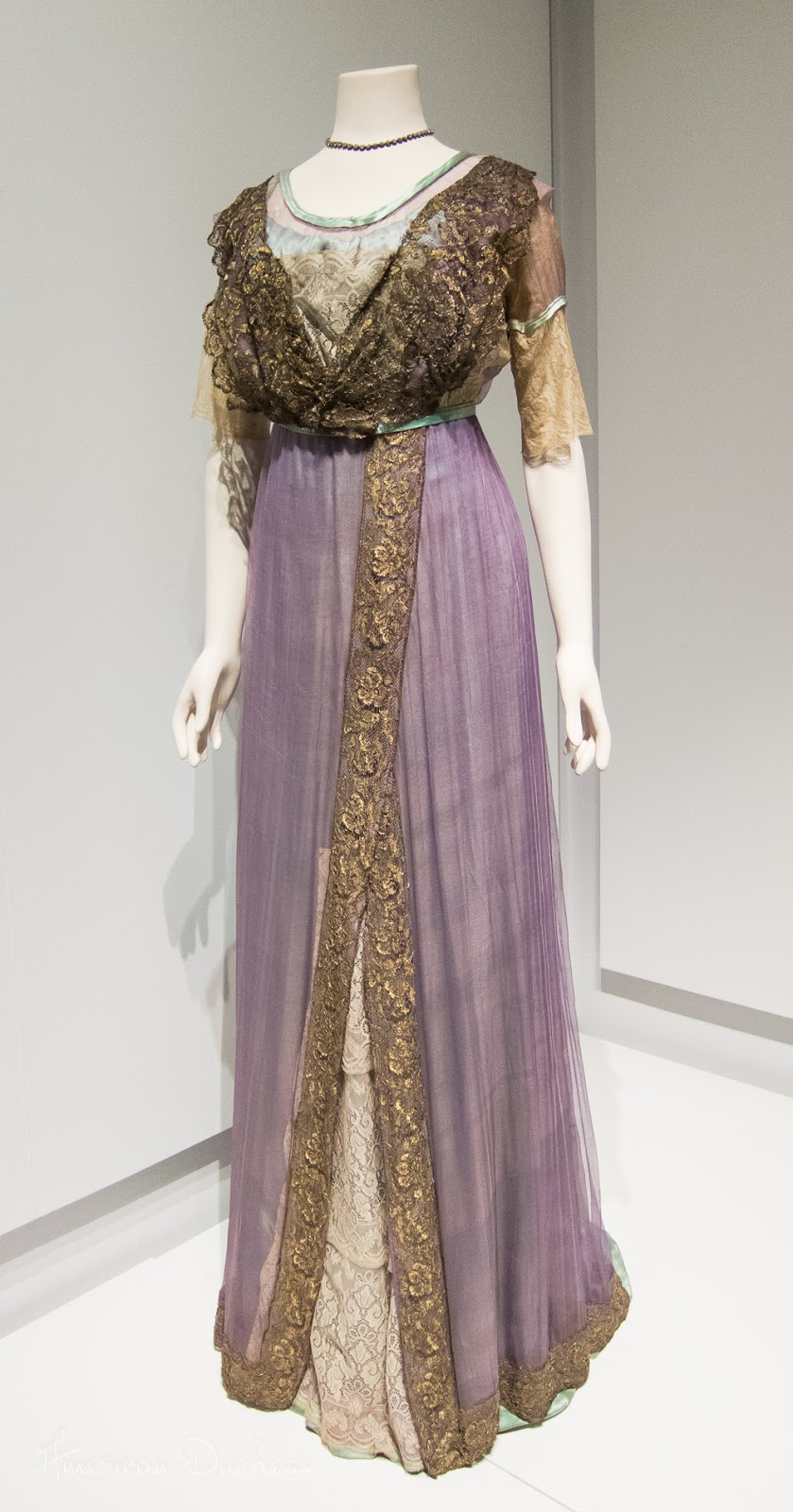 Gown, Liverpool, c. 1910-1912. Lady Lever Art Gallery