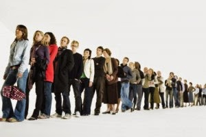 7 Meditation & Mindfulness Practices For A Busy Life - Waiting in Line