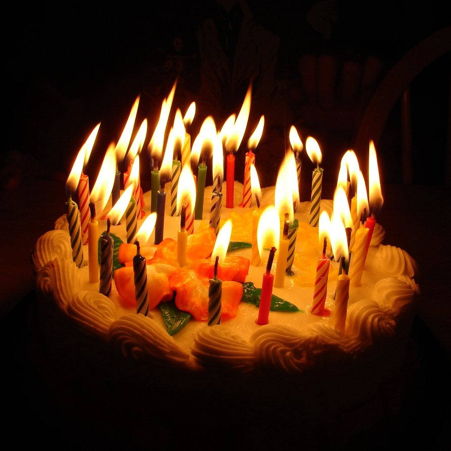 Birthday Cake With Lit Candles Images : Life and Love in the Petri Dish: For my birthday, I ask you...