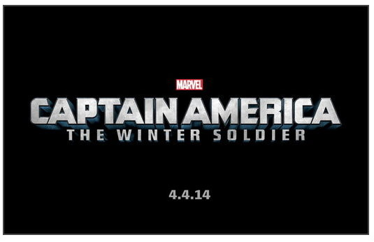Captain America The Winter Soldier movie logo