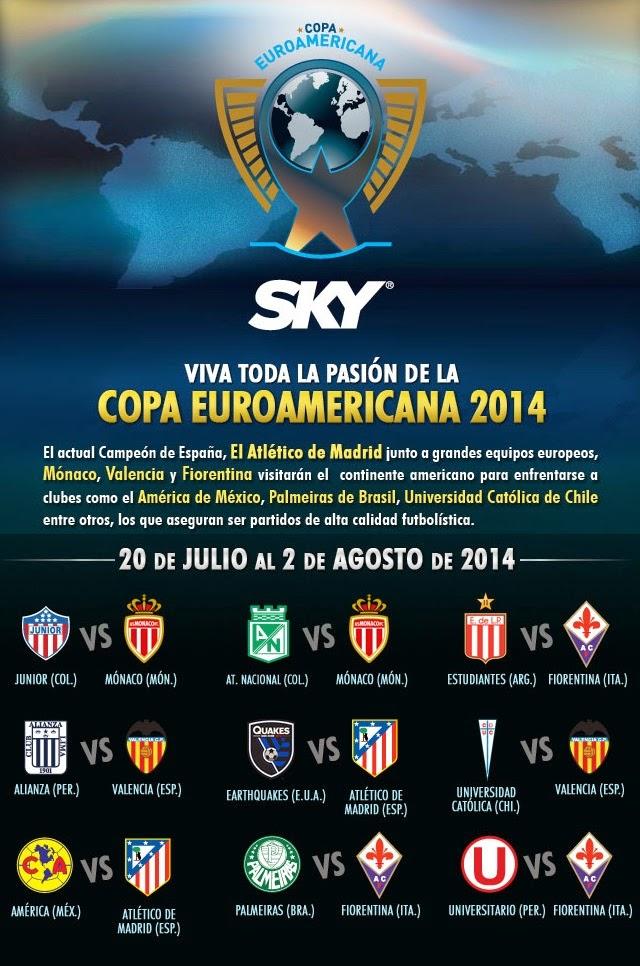 Copa EuroAmericana en SKY