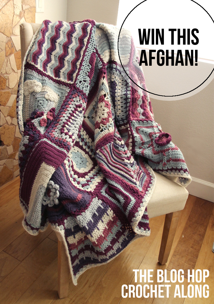 WIN this beautiful crochet-along afghan! // www.maybematilda.com