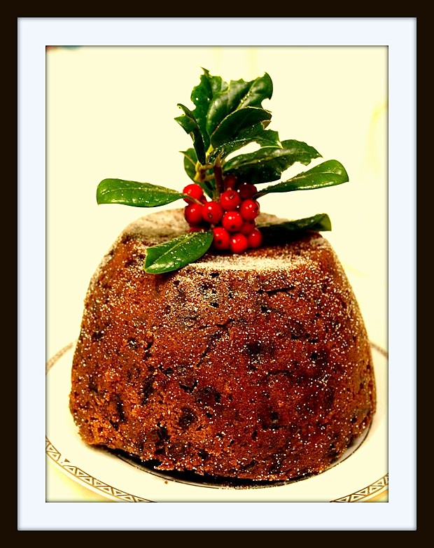 Cathy 39 s spelt for health easy spelt christmas pudding for Easy xmas pudding