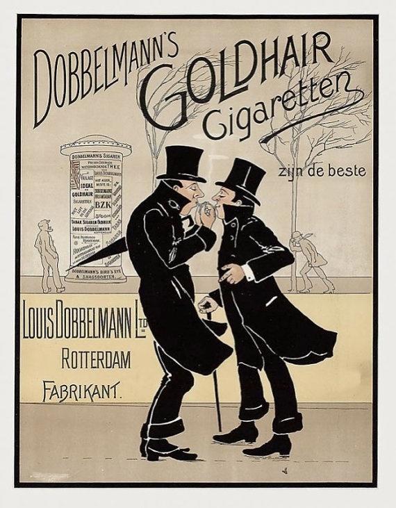 Dobbelmann Goldhair Cigarettes