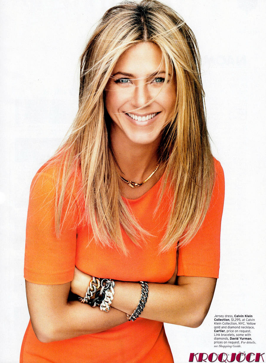 Fashion: Jennifer Aniston on magazine cover Jennifer Aniston