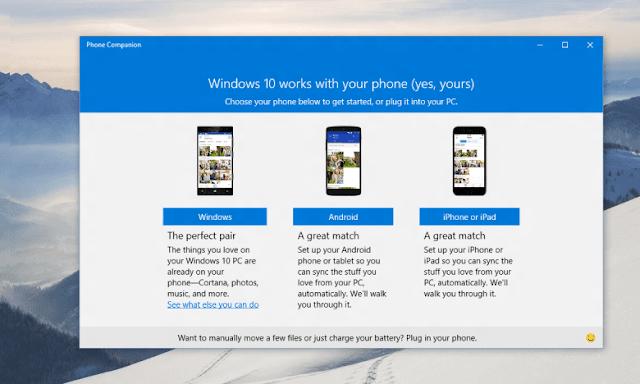 Um pouquinho do Windows 10 no seu Android ou iPhone, que tal?
