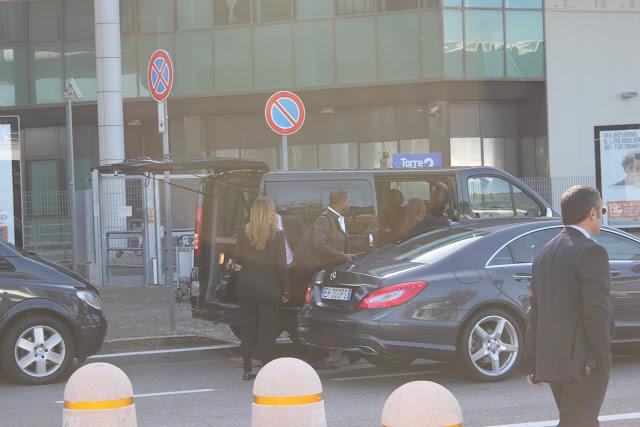 Kim and Kanye in Rome