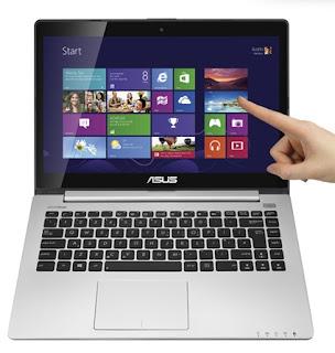 Info Harga dan Spesifikasi Laptop VIVOBOOK Asus S400CA 2013