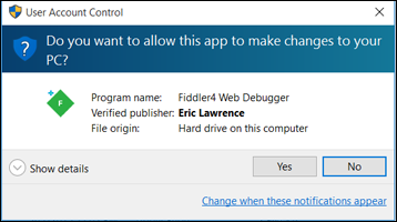 how to stop user account control popup