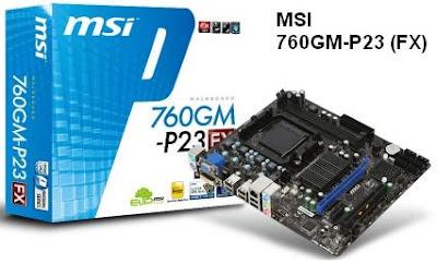 MSI 760GM-P23