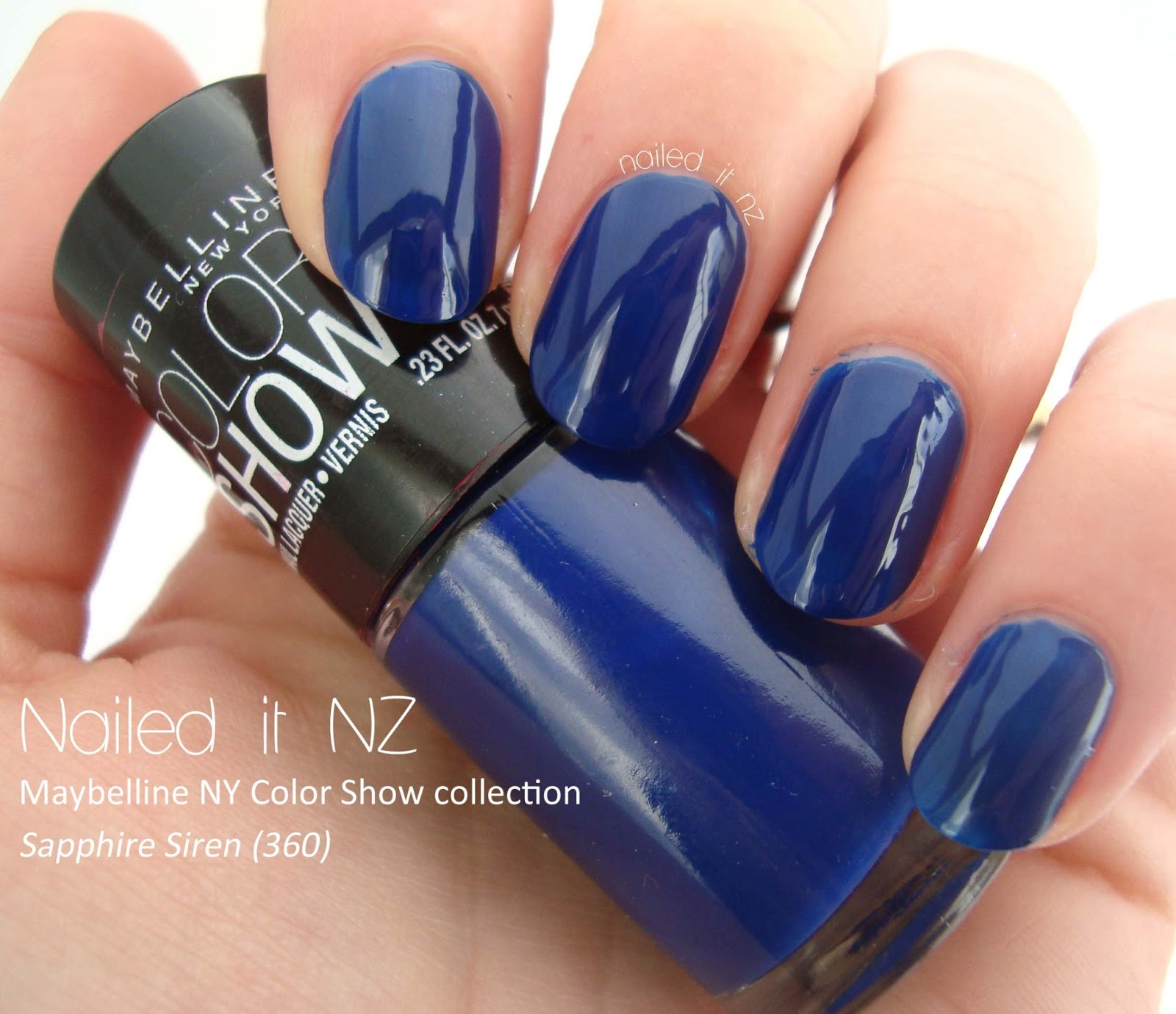 Maybelline New York Color Show collection - swatches and reviews!
