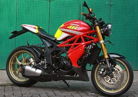 Foto gambar modifikasi motor tiger jadi touring trail jap style keren ...