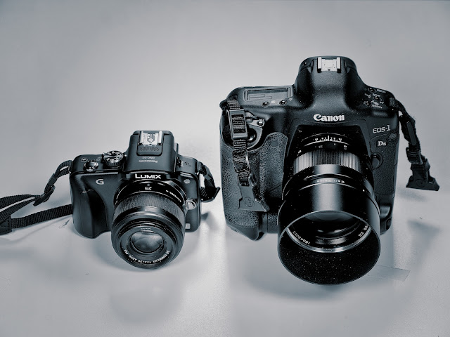 Kirk Tuck's Comparison of DMC-G3 and Canon DSLR