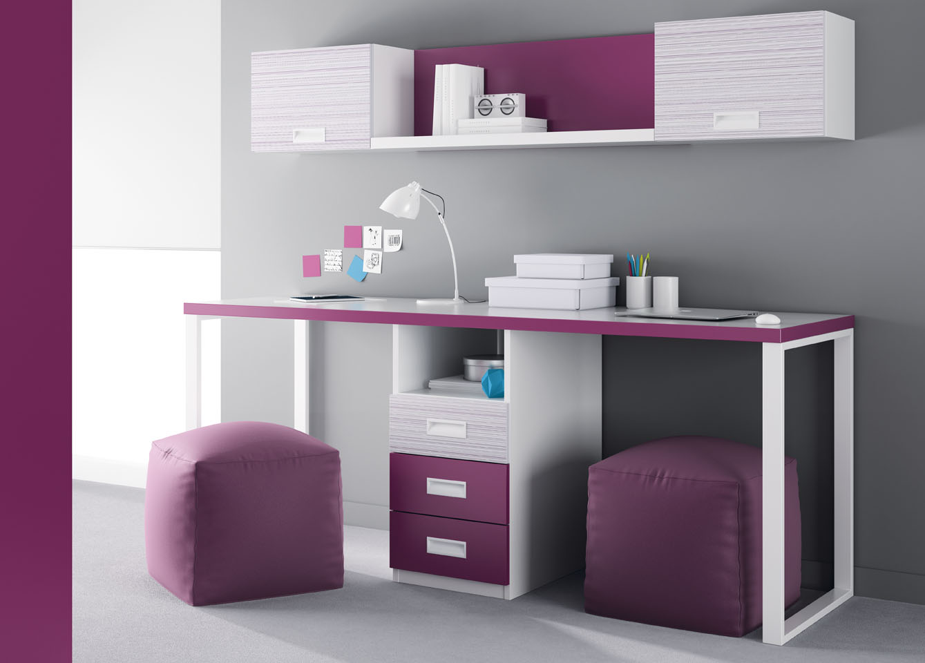 El mueble para nuestros hijos for Muebles de estudio modernos