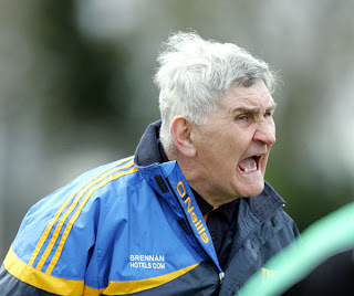 Wicklow Manager Mick O'Dwyer pictured during the National football league division four clash at Fraher Field Dungarvan. (Photo:Michael Kiely.)
