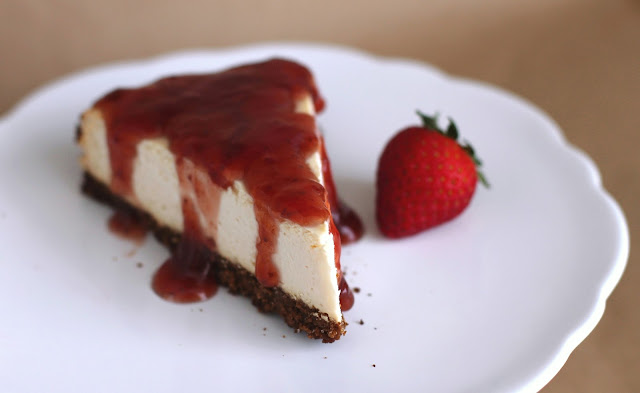 Healthy Classic Cheesecake Recipe