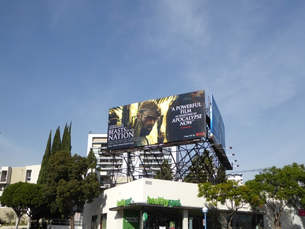 Beasts of No Nation movie FYC billboard