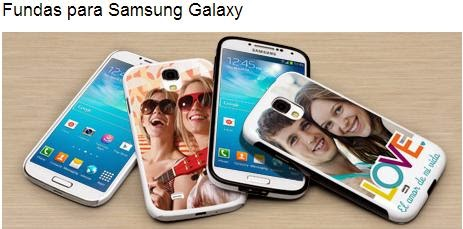 Fundas personalizadas para Samsung Galaxy