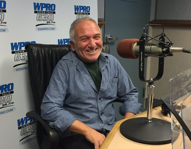 Alan Sorriento is a right-wing fanatical radio host