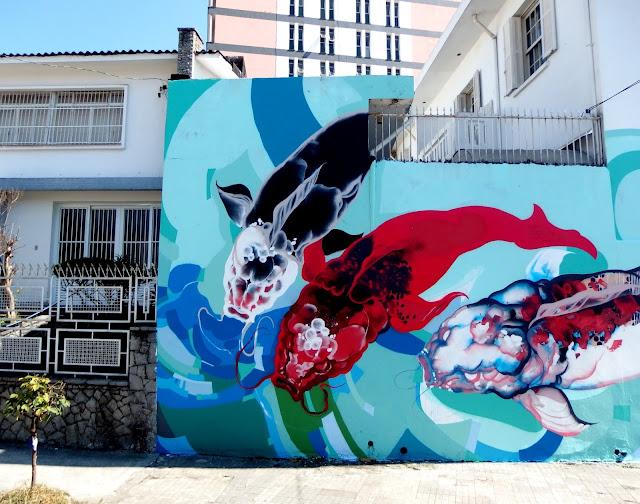Brazilian Street Artist Titi Freak Newest Urban Mural In Sao Paulo, Brazil. 3