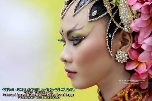 Rias Pengantin : PAES AGENG Modifikasi BALI - [ Session 2 ] - Tata Rias & Busana oleh TUNJUNG BIRU Rias Pengantin Purwokerto [ tunjungbiru.ga ] | Talent : Trez | Foto oleh : KLIKMG Fotografi
