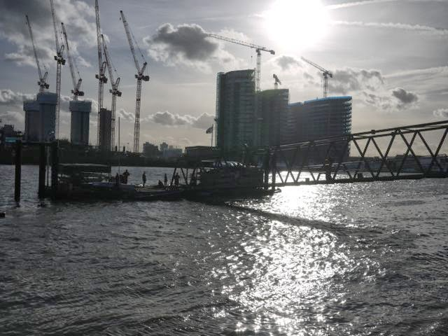 Nine Elms, in south west London, the site of one of the biggest urban redevelopment projects in Europe.