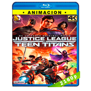 Justice League vs Teen Titans (2016) HEVC H265 2160p Audio Dual Latino-Ingles