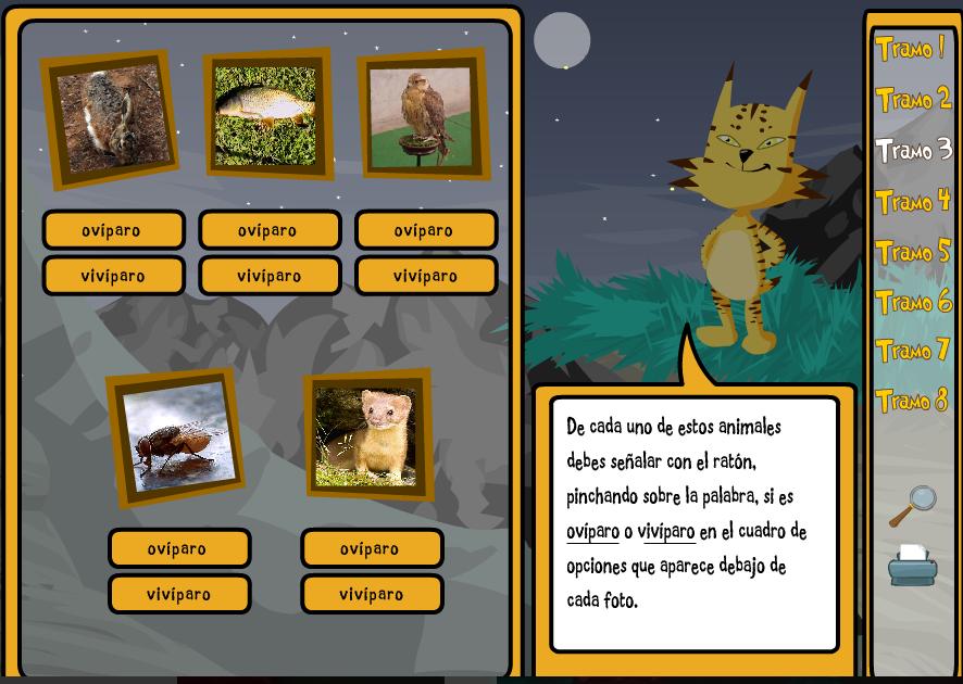 JUEGO ANIMALES 2