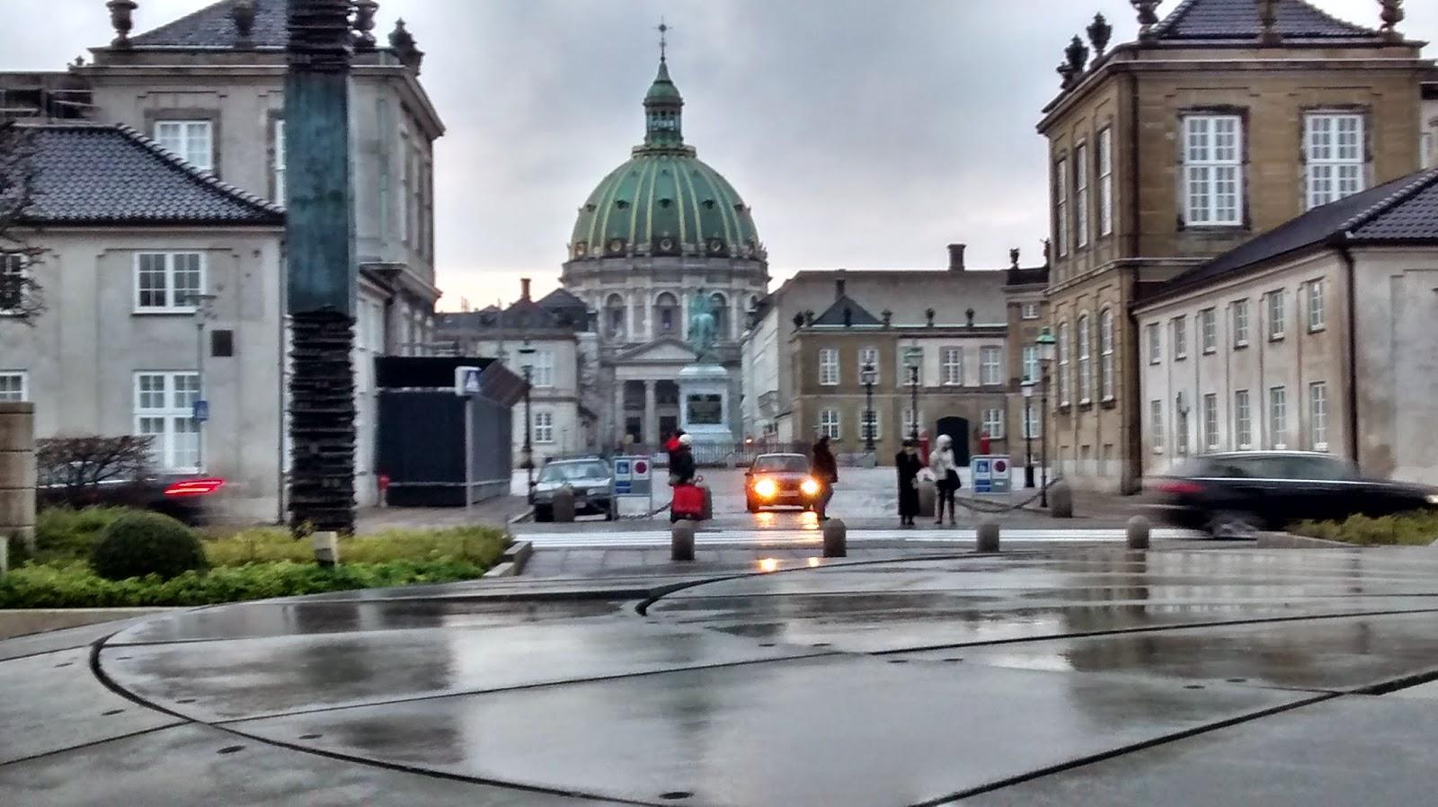 Catedral de Mármore em Copenhagen