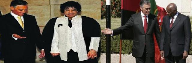 Se ao menos Kadhafi tivesse, como Eduardo dos Santos, comprado o reino lusitano…