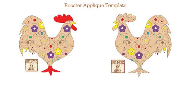 http://shopprojectsbyjane.blogspot.sg/2016/01/rooster-applique-template.html