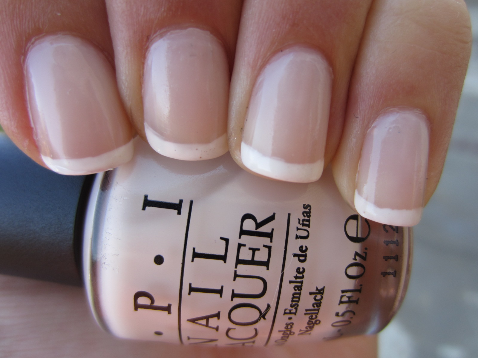 polish. impress. repeat.: French Manicure with OPI\'s So Many Clowns ...