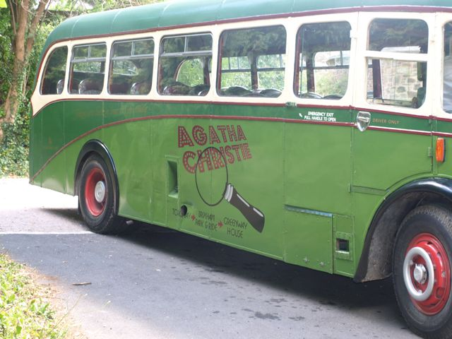 Agatha Christie Bus