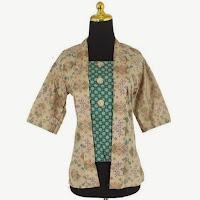 Baju Kantor Blouse Batik