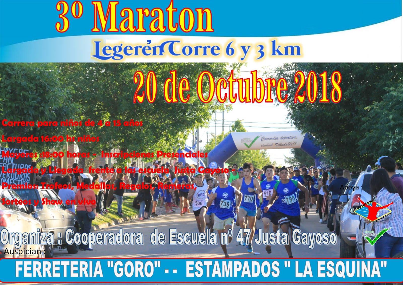 3º edicion Legeren Corre 2018-