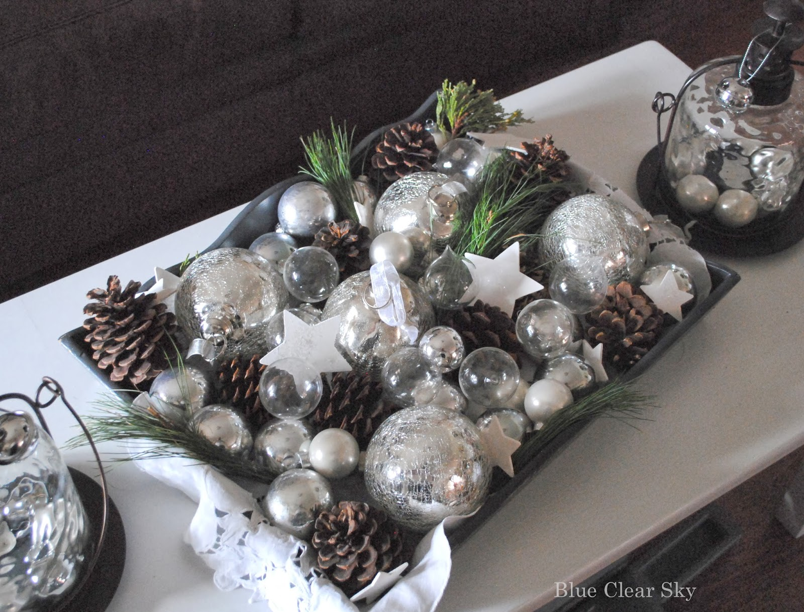enjoy finding new ways to use our decorations, both on our Christmas  title=