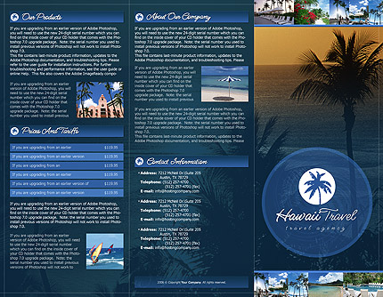 brochure template photoshop
