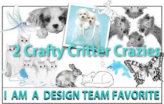 2 Crafty Critter Crazies DT Favourite