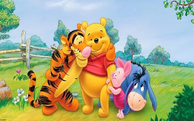 Winnie the Pooh Piglet Tiger Donkey
