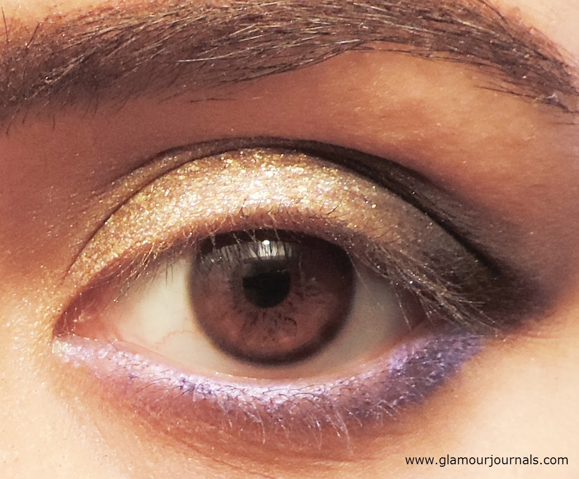 Black gold diwali smokey eye makeup tutorial makeup themed black gold diwali smokey eye tutorial indian makeup tutorial makeup themed around jewelry baditri Image collections