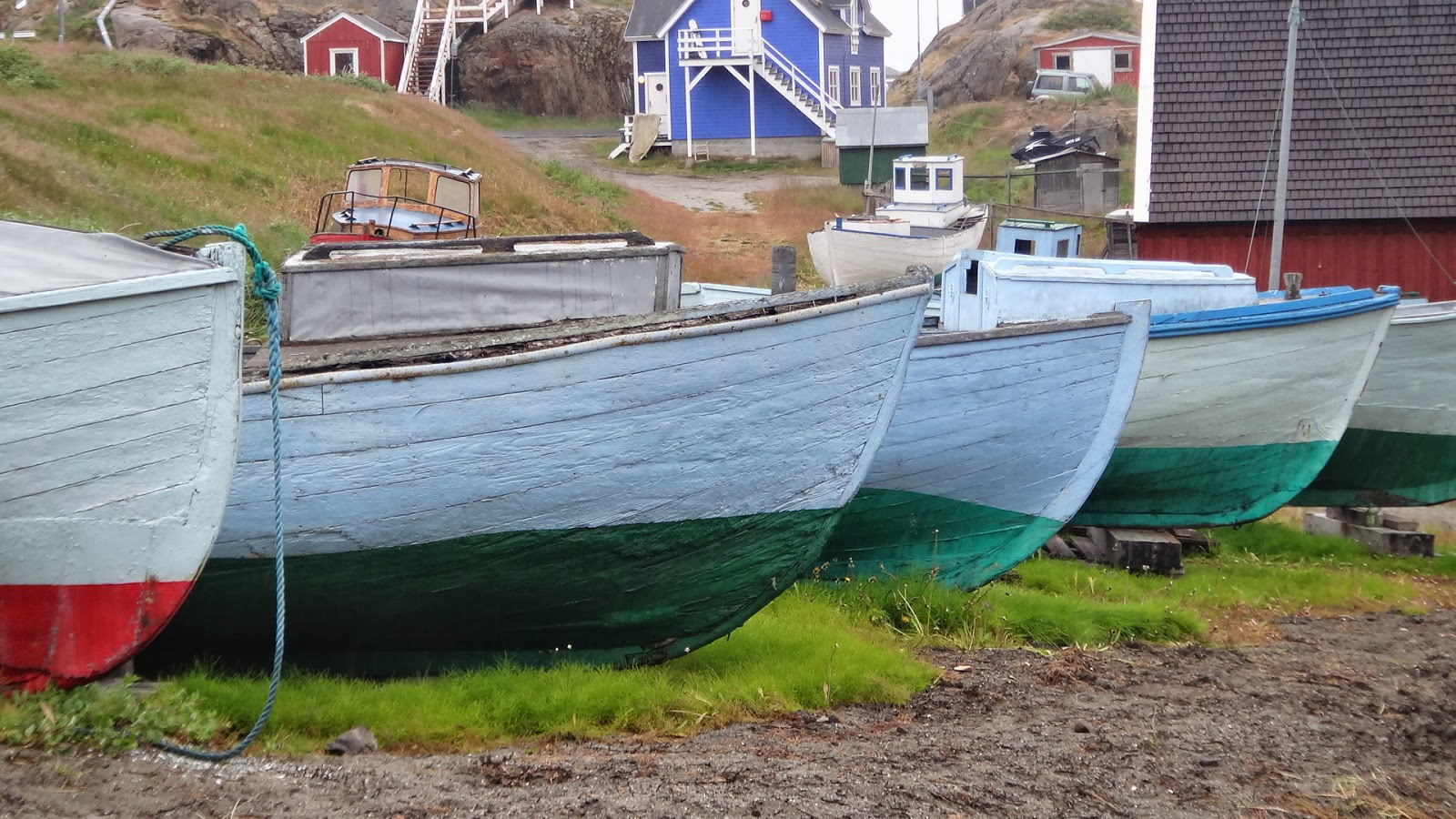 Arctic circle trail challenge sunday 25th august to for Circle fishing boat